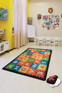 "RugstoreX Puzzle Rugs for kids Highway  3'x 5' 39""x 62"" 100x160 cm"
