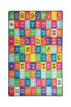"Load image into Gallery viewer, RugstoreX Numbers Rugs for kids Highway  3'x 5' 39""x 62"" 100x160 cm"