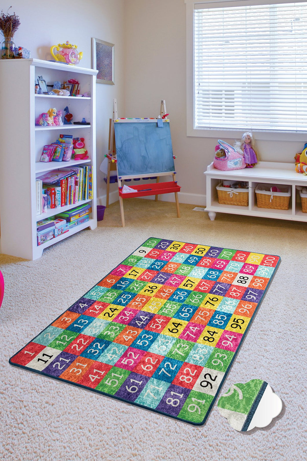 RugstoreX Numbers Rugs for kids Highway  3'x 5' 39