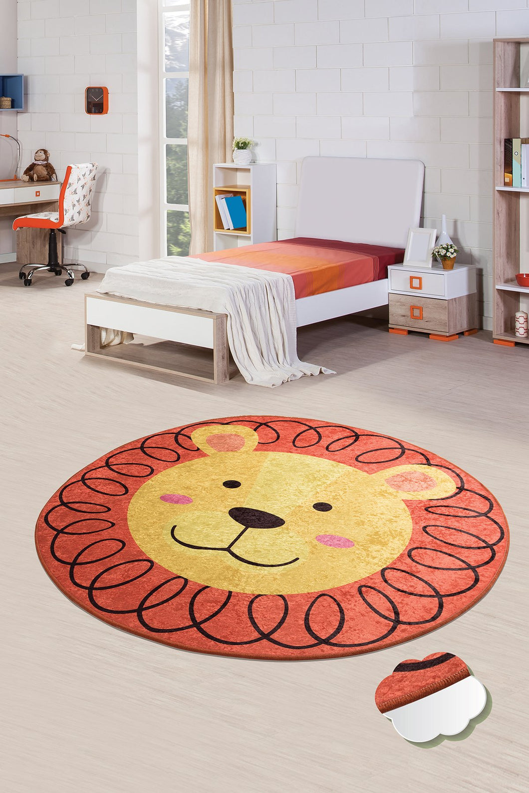 Antdecor Leon Rugs for kids Highway  3'x 5' 39