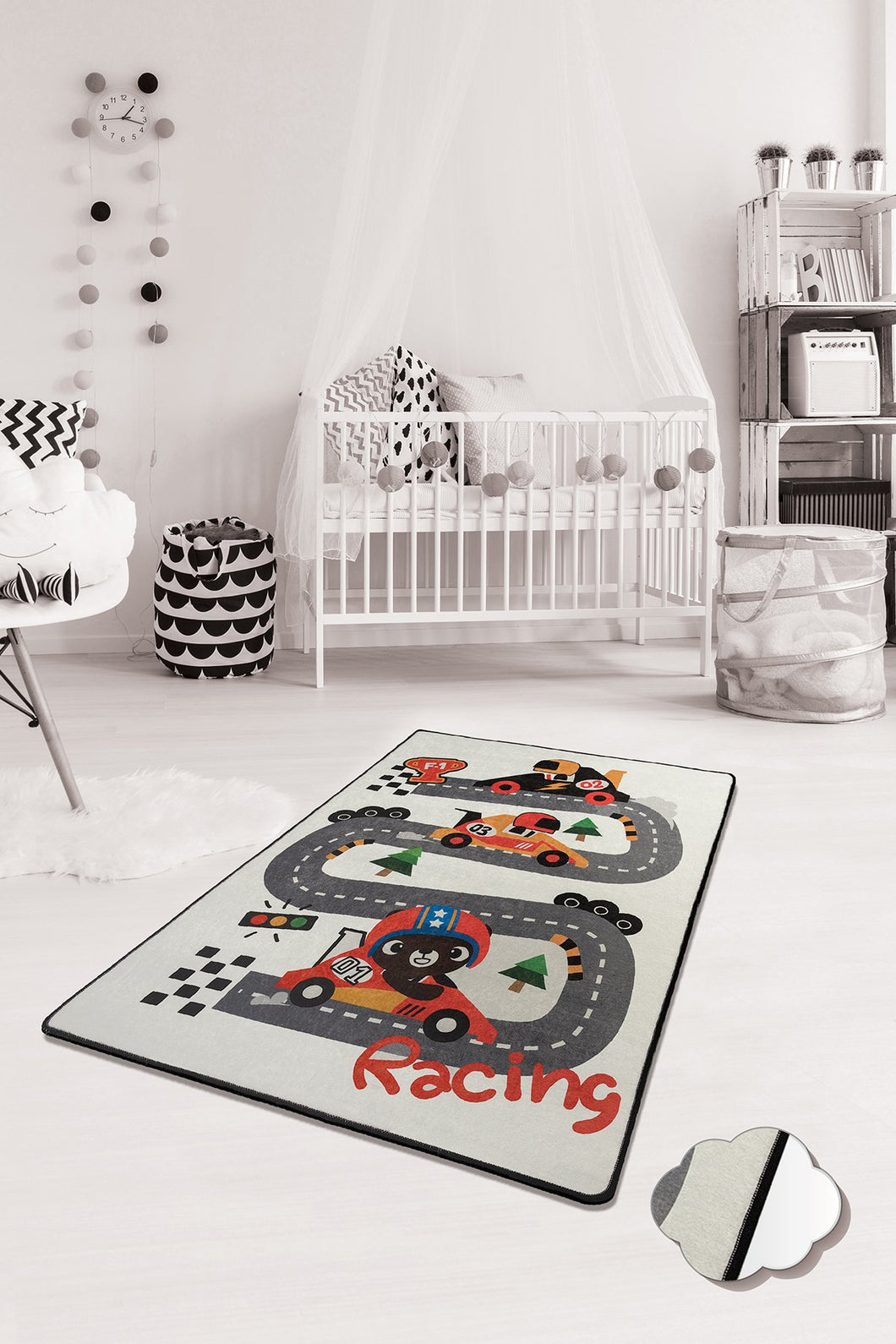 RugstoreX Race Rugs for kids Highway  3'x 5' 39