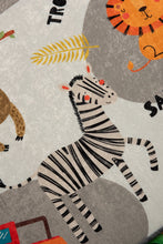 "Load image into Gallery viewer, RugstoreX Safari  Rugs for kids Highway  3'x 5' 39""x 62"" 100x160 cm"