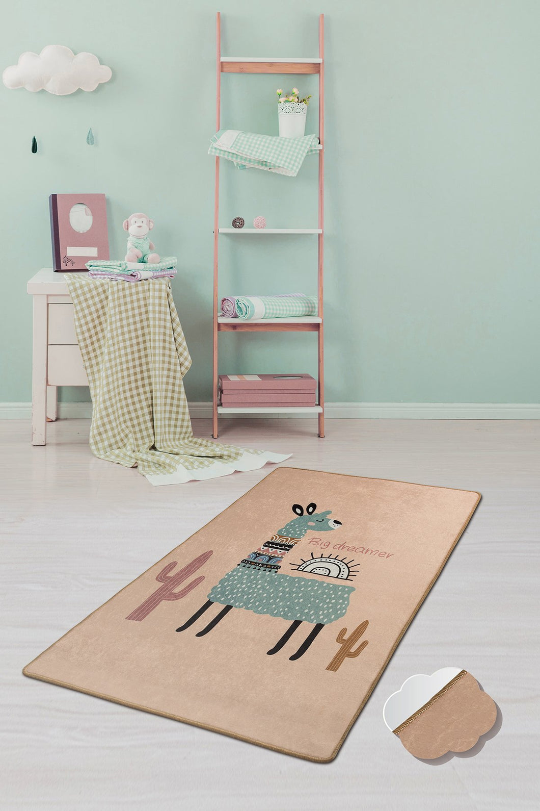 Antdecor Lama Rugs for kids Highway  3'x 5' 39