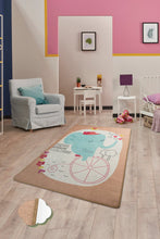 "Load image into Gallery viewer, Antdecor Elephants Rugs for kids Highway  3'x 5' 39""x 62"" 100x160 cm"