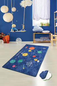 "RugstoreX Space Rugs for kids Highway  3'x 5' 39""x 62"" 100x160 cm"