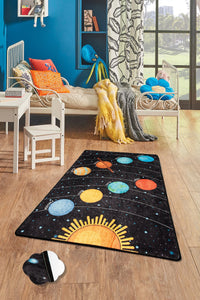 "Antdecor Galaxy Rugs for kids Highway  3'x 5' 39""x 62"" 100x160 cm"