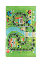 "Load image into Gallery viewer, RugstoreX Train Rugs for kids Highway  3'x 5' 39""x 62"" 100x160 cm"