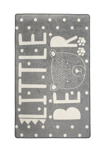 "Load image into Gallery viewer, Antdecor Litte Bear Gri Rugs for kids Highway  3'x 5' 39""x 62"" 100x160 cm"