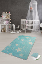 "Load image into Gallery viewer, RugstoreX Stars Rugs for kids Highway  3'x 5' 39""x 62"" 100x160 cm"