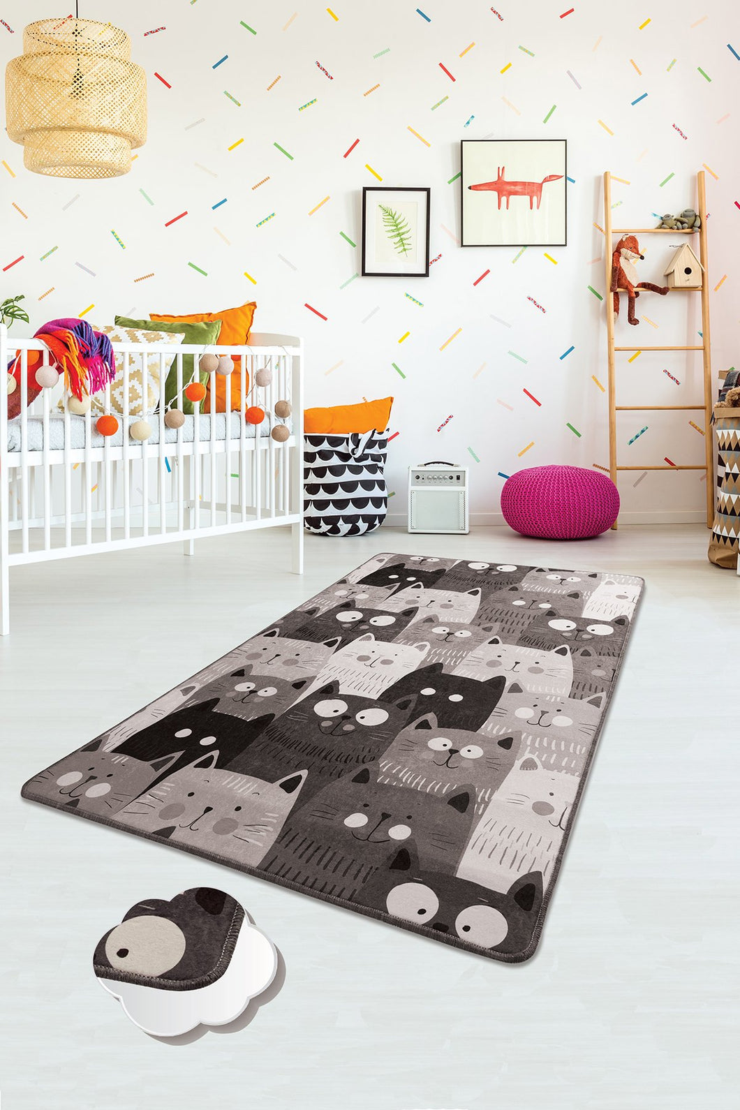 RugstoreX Cats Rugs for kids Highway  3'x 5' 39