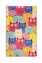 "Load image into Gallery viewer, RugstoreX Colour Rugs for kids Highway  3'x 5' 39""x 62"" 100x160 cm"