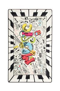 "Antdecor Music Rugs for kids Highway  3'x 5' 39""x 62"" 100x160 cm"