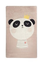 "Load image into Gallery viewer, Antdecor King Panda Rugs for kids Highway  3'x 5' 39""x 62"" 100x160 cm"