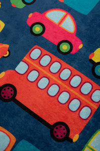 "RugstoreX Cars Rugs for kids Highway  3'x 5' 39""x 62"" 100x160 cm"