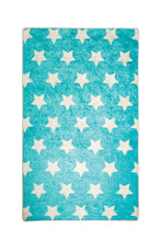 "Load image into Gallery viewer, RugstoreX Star Blue Rugs for kids Highway  3'x 5' 39""x 62"" 100x160 cm"