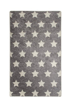 "Load image into Gallery viewer, RugstoreX Star Grey for kids Highway  3'x 5' 39""x 62"" 100x160 cm"