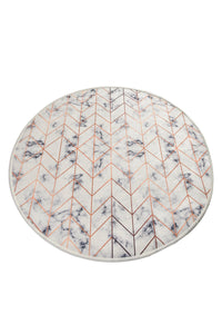 "Cansun Morea Round Rug 40"" - Rattanglobal"