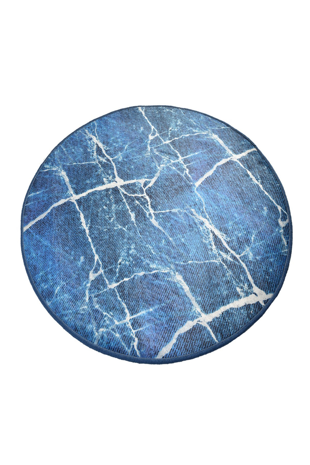 Cansun Denim Round Bath Rug 40