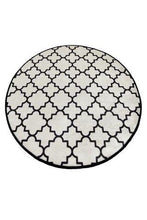 "Load image into Gallery viewer, Cansun White Cup Round Bath Rug 40"" 100 cm - Rattanglobal"