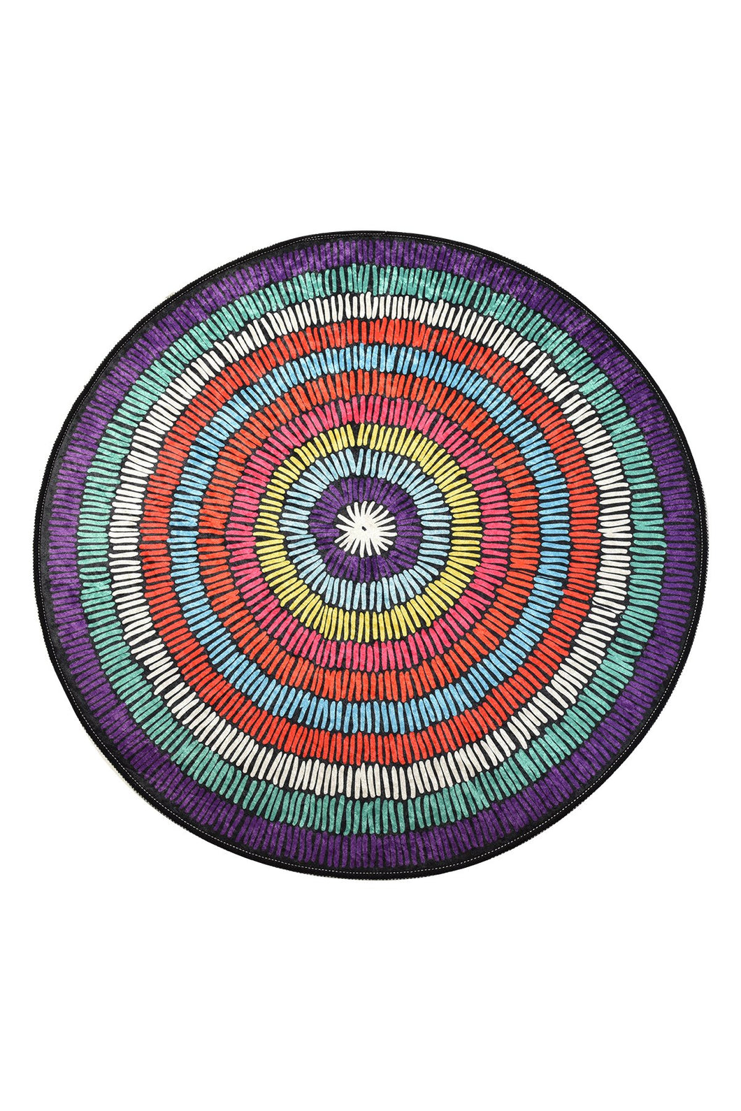 Antdecor Bubble Round Bath Rug Area Rug Round Rug 40
