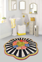 "Load image into Gallery viewer, Antdecor Loan Round Bath Rug Area Rug Round Rug 40"" 100 cm - 55"" 140 cm"