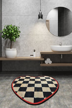 "Load image into Gallery viewer, Antdecor Kate Djt Round Bath Rug Area Rug Round Rug 100X100 Cm - 55"" 140 cm"