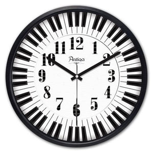 "Wooden Wall Clock 12""x12"" Cadran WT44 - Rattanglobal"