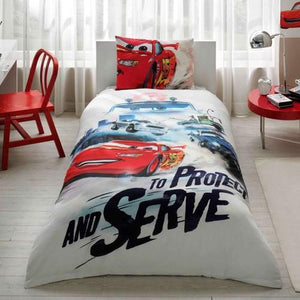 %100 Cotton Cars Crush  Theme licensed Bedding Set Single / Twin Best Seller Set Collection - Rattanglobal