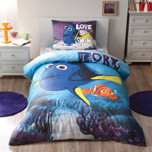 %100 Cotton Nemo Theme licensed Bedding Set Single / Twin Best Seller Set Collection - Rattanglobal