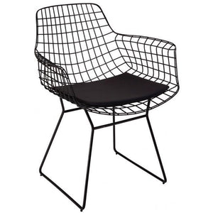 "Antdecor Metal Chair Collection ANT-7907 30""X18""X24"" ( 77x46x60cm) - Rattanglobal"