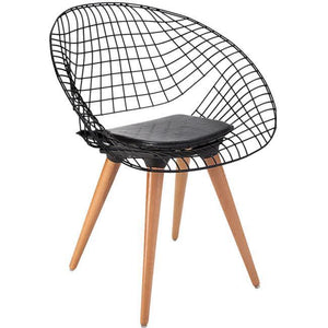 "Antdecor Metal Chair Collection ANT-7901 32""X25""X22"" ( 80x63x57cm) - Rattanglobal"