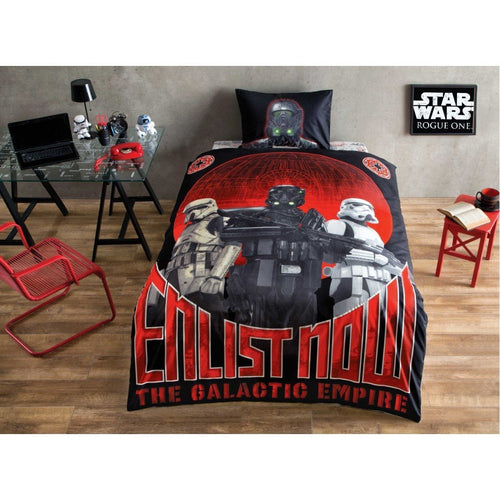 %100 Cotton Star Wars Theme licensed Bedding Set Single / Twin Best Seller Set Collection - Rattanglobal