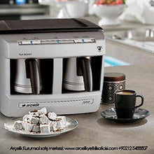 Load image into Gallery viewer, Automatic Turkish Coffee Machine (4 People) (220v Only, Needs a 110v-220v (Min 1400w) Converter to Work on Us Outlets. Do Not Plug in Directly to a Us Outlet.) - Rattanglobal