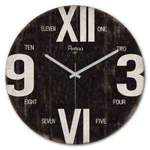 "Wooden Wall Clock 12""x12"" Cadran WT71 - Rattanglobal"