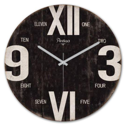 Wooden Wall Clock 12