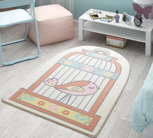 "Load image into Gallery viewer, Happy Cage Theme Super Soft Kids Rug Carpet Floor Mat 3'x 5' 39""x 59"" 100x150 cm - Rattanglobal"
