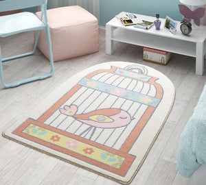 "Happy Cage Theme Super Soft Kids Rug Carpet Floor Mat 3'x 5' 39""x 59"" 100x150 cm - Rattanglobal"