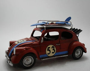 Vintage Metal Gifts, Toys, Model Props Cars 6 Colors - Rattanglobal