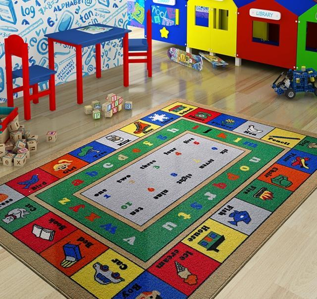 Lesson Design Kids Rugs Anti Slip Anti Alergetic Game Carpets for Kids 79