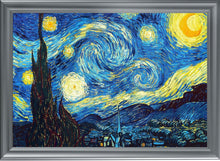 "Load image into Gallery viewer, The Starry Night, Van Gogh - UV Print Fantastic Aluminum Frame (19.7""X27.5"" Gallery Quality Metal Art) - Rattanglobal"