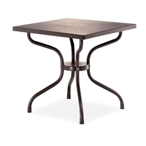 "Novussi Carmen 80 Rattan Table Outdoor Garden Furnitures Collections 31""x31"" ( 80x80cm) - Rattanglobal"