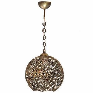 Venon Lighting Diamond Antique Single Chandelier - Rattanglobal