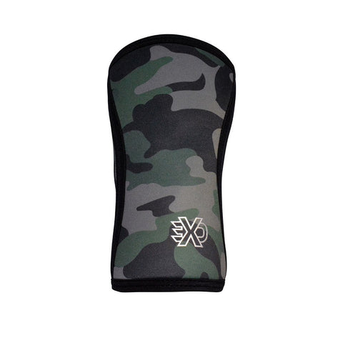 EXO Green Camo 7mm Knee Sleeves  (Pair)