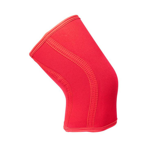 Exo Solid Red 5mm Knees Sleeves (PAIR)