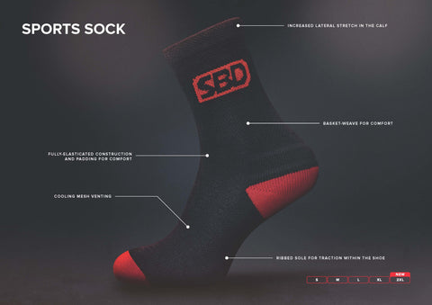 SBD Sports Socks