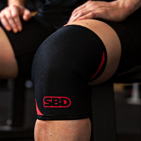 SBD Weightlifting Knee Sleeves 5mm - pair