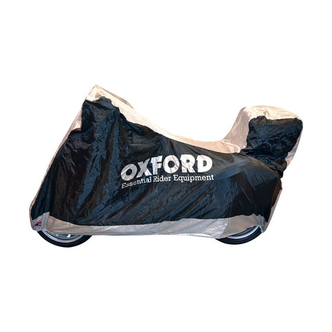 OXFORD AQUATEX LGE M/CYCLE WP COVER WITH TOP BOX
