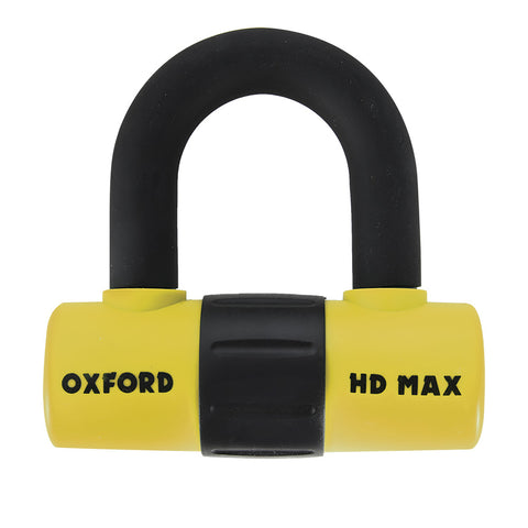 OXFORD HD MAX PADLOCK /DISC LOCK 14mm YEL