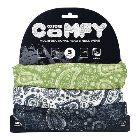OXFORD COMFY PAISLEY 3 PACK