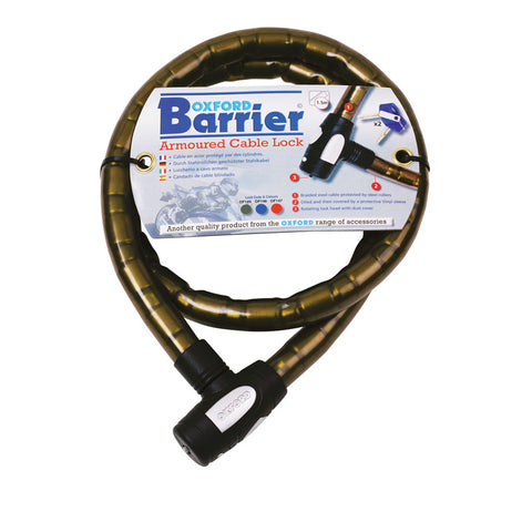 OXFORD BARRIER ARMOURED CABLE LOCK - SMO